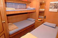 Double Cabin on M/Y Discovery Liveaboard Diving Motor Yacht in Marsa Alam Egypt
