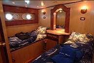 Double Cabin on M/Y Ocean Wave Liveaboard Diving Motor Yacht in Marsa Alam Egypt