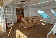 Dive Deck on M/Y Ocean Wave Liveaboard Diving Motor Yacht in Marsa Alam Egypt