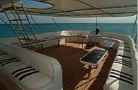 Upper Deck on M/Y Ocean Wave Liveaboard Diving Motor Yacht in Marsa Alam Egypt