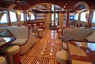 Interior of Spirit of Folk Liveaboard Diving Motor Yacht in Marsa Alam Egypt